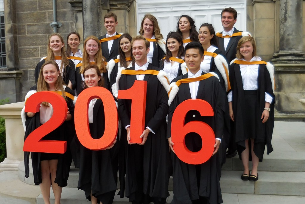 BA International Honours graduating cohort 2016