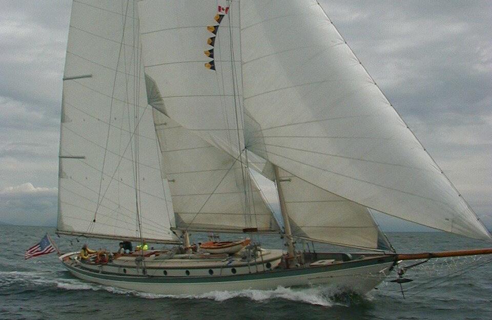 Bowdoin B Crowninshield MARTHA Classic Sailboats