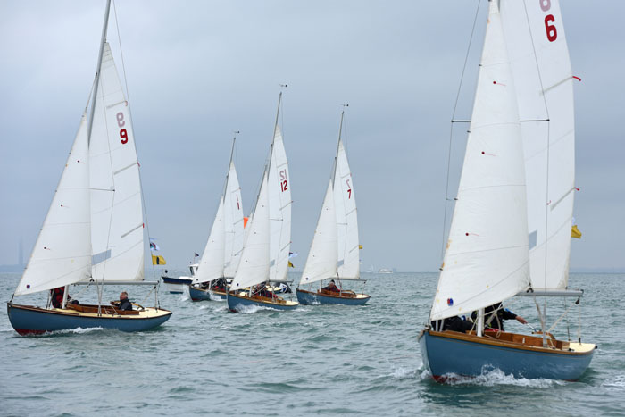 Cowes Classics Week Day 3: Tight racing for vintage classes