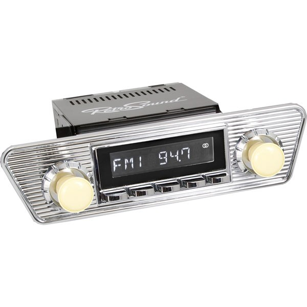 Radio RetroSound SB Chrom Karmann Ghia (DAB)