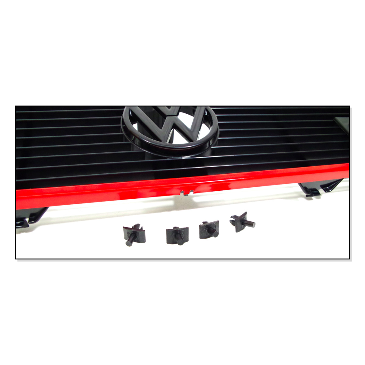 171853653L Grill (Kompletny) Pakiet GTI VW Golf 1, Caddy 1