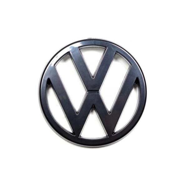 171806104S Emblemat VW (Czarny) Przedni Grill VW Golf 1 / Cabrio