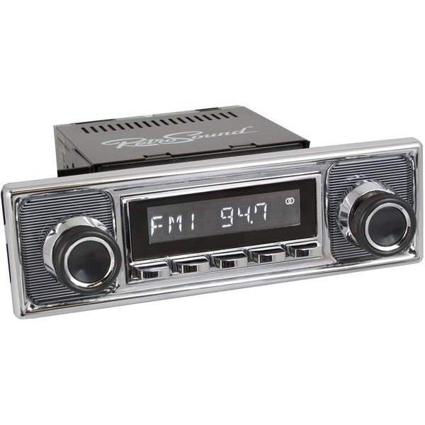Radio RetroSound HR Chrom Pinstripe + Bluetooth