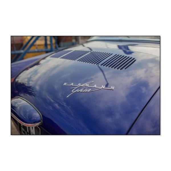 """343853905 Emblemat """"Karmann Ghia"""" VW Karmann Ghia"""