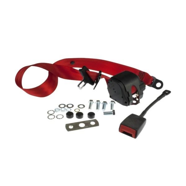 111857691R Pas Bezpieczeństwa (Czerwony) VW Golf 1, Jetta 1
