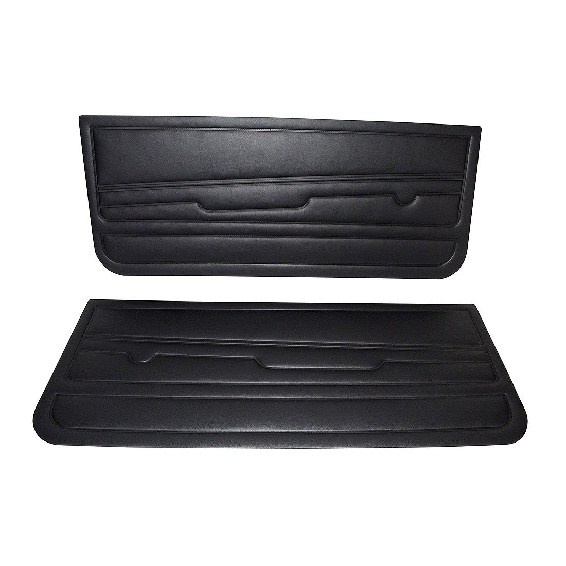 Tapicerki Przednie Czarne (OEM) VW Golf 1 GTI