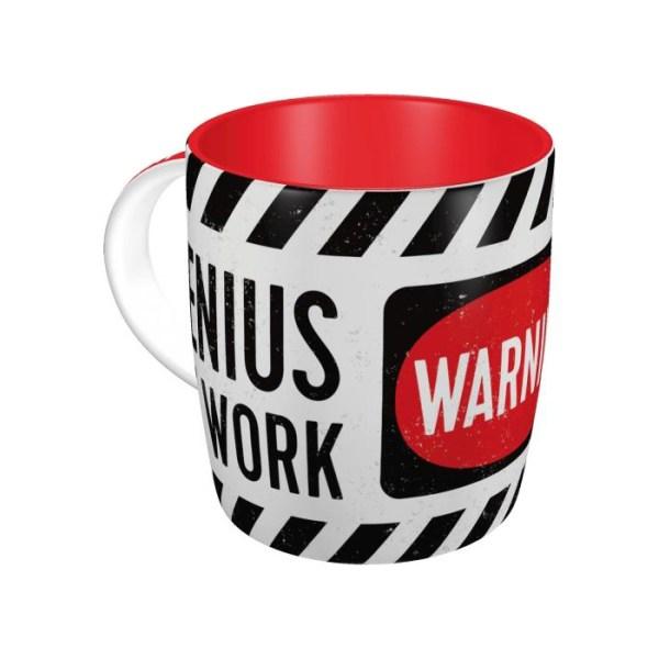 "Kubek Ceramiczny ""Genius At Work"""
