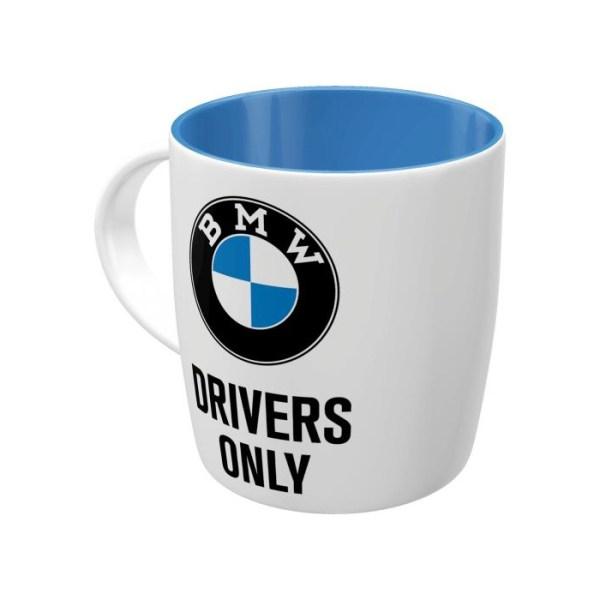 """Kubek Ceramiczny """"Drivers Only"""" BMW"""