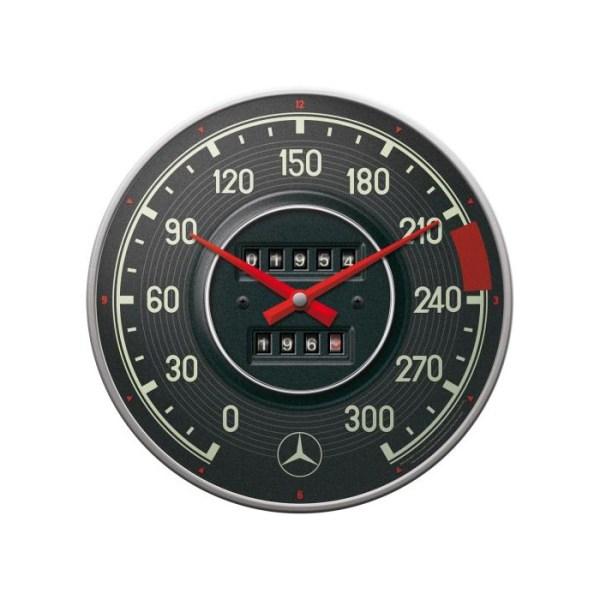 "Zegar Ścienny ""Tachometr"" Mercedes-Benz"