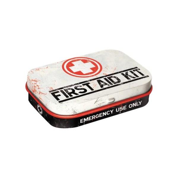 """Pastylki Miętowe (Mint Box) """"First Aid Kit"""" Classic"""