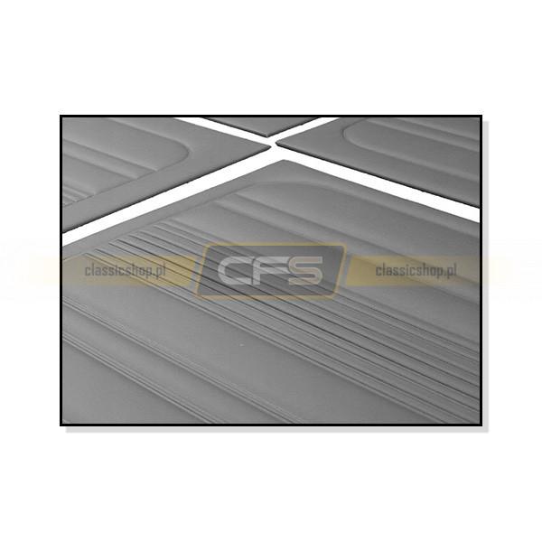 Tapicerki Tylne Kabiny Szare (OEM) VW Bus T3 (79-84)