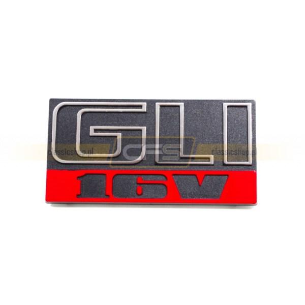 """Emblemat """"GLI 16V"""" w Grill VW Jetta 2 (US)"""