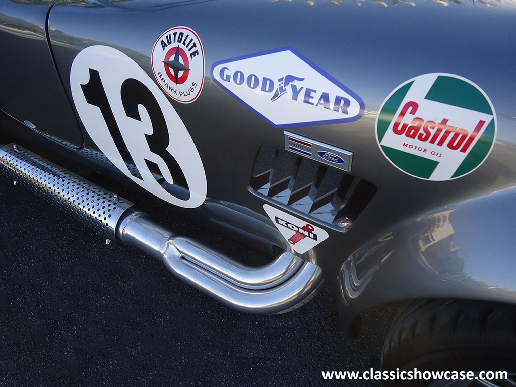 1965 Shelby Cobra Re Creation Roadster By Classic Showcase