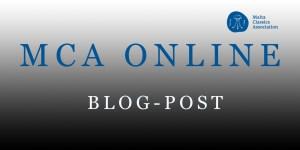 Malta Classics Association blog post