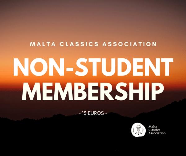 Non student membership
