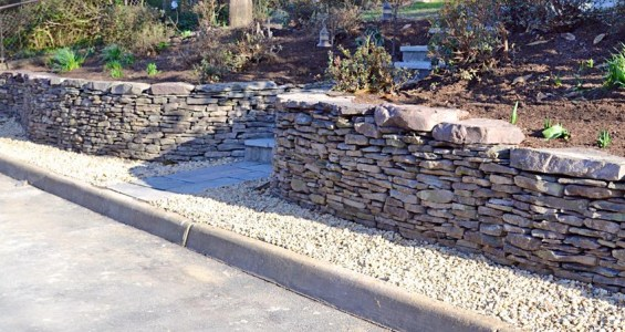 Classic Retaining Wall- wide