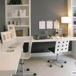 Рабочий кабинет в квартире