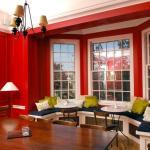 Красный-прекрасный. Гостиная в красных красках