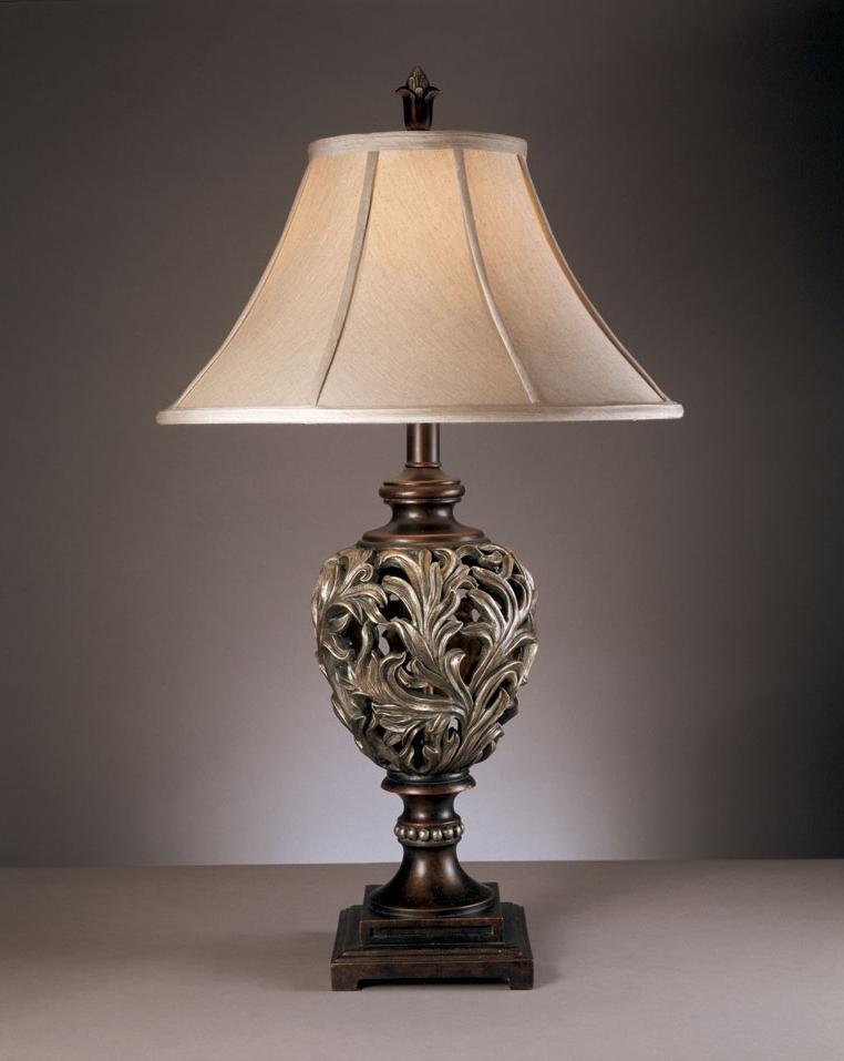 Красивые настольные светильники для спальни и гостиной