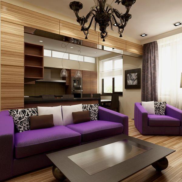 Гостиная в современном стиле – неповторимый дизайн