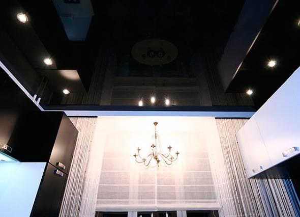 Натяжной потолок. Особая подсветка