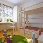 Обустраиваем интерьер светлой детской комнаты