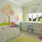 Как подобрать обои в светлую комнату для ребенка?