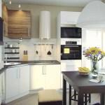 Компактная кухня со светом: дизайнерские инновации
