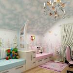 Интерьер светлой детской комнаты. Что нужно предусмотреть