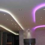 Подвесные потолки с освещением