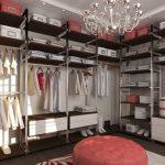 Идеи для оформления вашей модной гардеробной с освещением