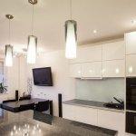 Комфорт приготовления на кухне с освещением