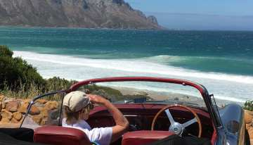 South Africa Driving Tour with Classic Travelling - Jaguar XK150