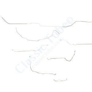 Buick GS  Brake Line Kit  Hardtop - Standard Drum -1970