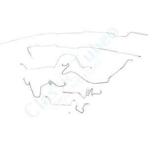 Ford  F350 Brake Line Kit  2WD and 4WD Extended Cab Long Bed -1988,1989
