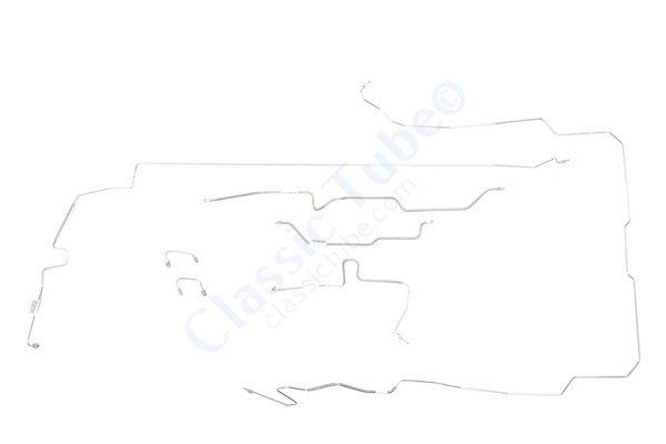 Jeep Gladiator Brake Line Kit  4WD - Power Brake -1967,1968,1969,1970,1971
