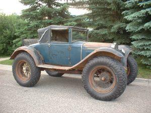 1928 1929 1931 Roadster 1932 Phaeton 1933 Tudor 1934
