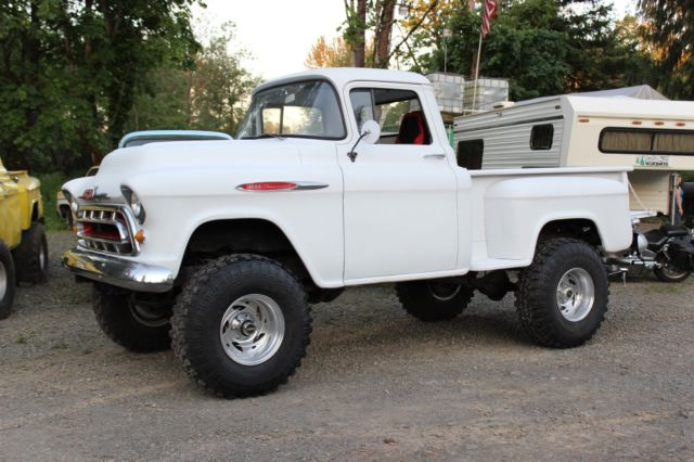1957 Chevy Truck Big Wheels