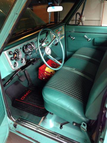 1968 Gmc 2500 Pickup Light Green