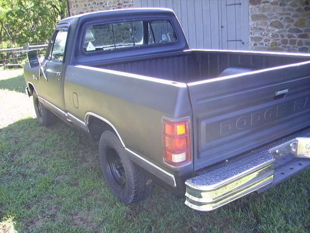 1982 Dodge D150 Short Bed Pick Up