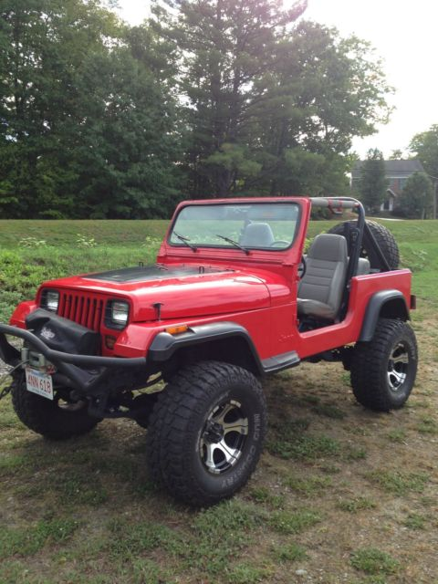 1989 Jeep Wrangler 4x4 Lifted With 35 Tires