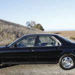 Black 1994 Acura Legend Gs 6 Speed Manual Sedan With Navigation Low Mileage