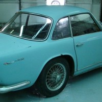 Strange color: 1960 Triumph Italia 2000 Coupé by Vignale
