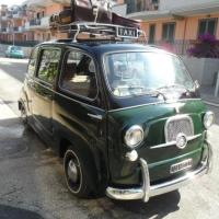 "Catch it: 1964 Fiat 600 Multipla ""Taxi"""