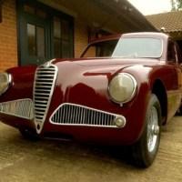 Here is the next: 1952 Alfa Romeo 6C 2500 Berlina by Pininfarina