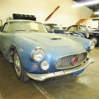 Hidden white: 1960 Maserati 3500 GT Coupé by Touring
