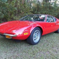 Original configuration: 1972 De Tomaso Pantera