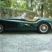 A matter of dime: 1953 Jaguar XK120 O.T.S.