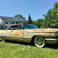 Running in the family/2: 1960 Cadillac Series 62 Convertible