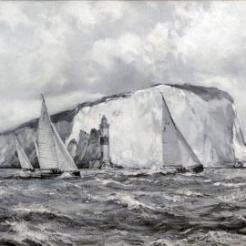 Yacht race of the Needles, Isle Of Wight